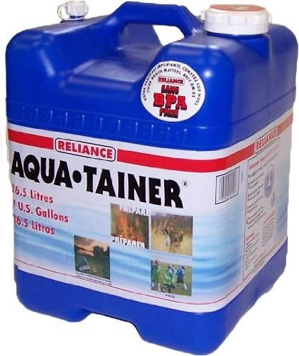 best Reliance Products Aqua-Tainer 7 Gallon Rigid Water Container