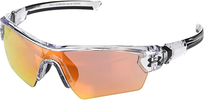 best Under Armour Youth Menace Wrap Sunglasses for muntain biking