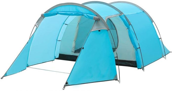 best Night Cat Waterproof Camping Tent for 1 2 3 4 Person