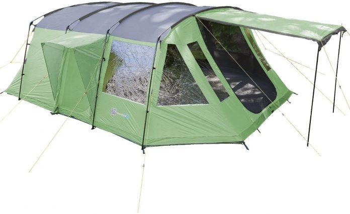 best Skandika Waterproof Nordland Tunnel family tent