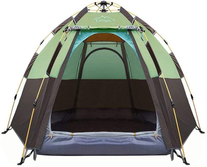 best Toogh Backpacking Camping Tent for 3-4 Person