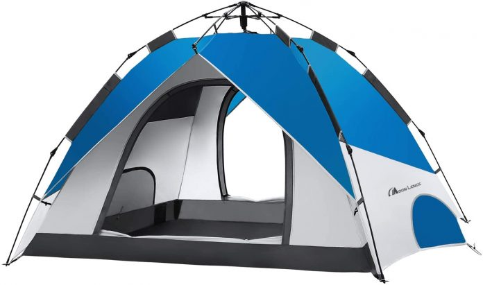 best MOON LENCE Pop Up Tent Family Camping Tent  for Camping