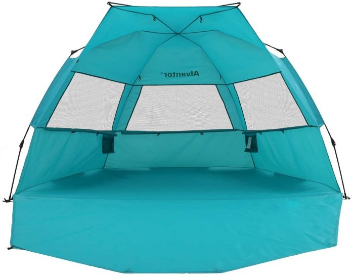 best Alvantor Beach Tent 3-4 Person tent for camping on the beach