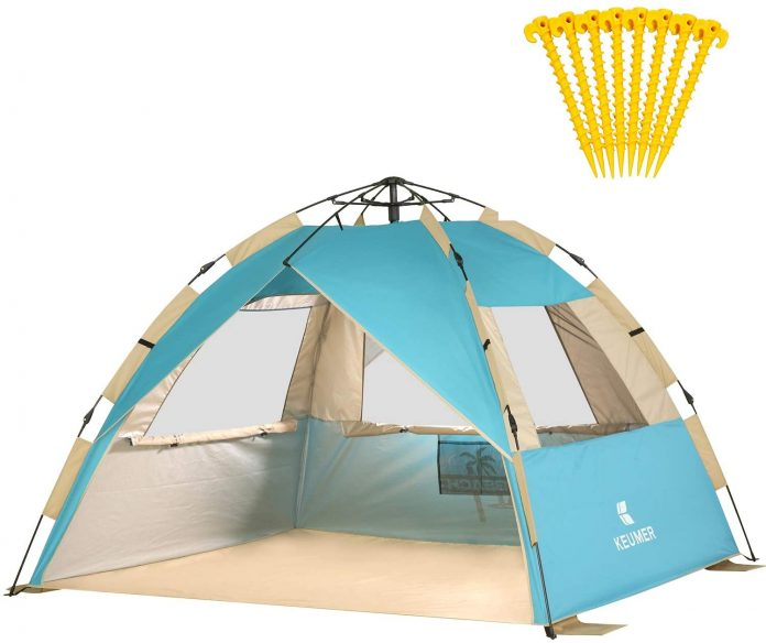 best Gorich Easy Set Up Instant Beach Tent for camping on the beach