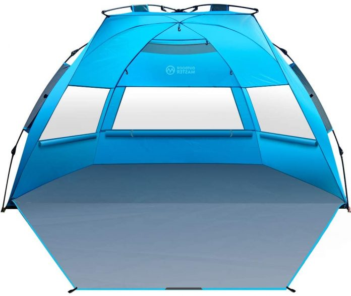 best Outdoor Master Pop Up Beach Tent for camping on the beach