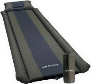 best IFORREST Sleeping Pad with Armrest & Pillow Camping Mattress (L/XL) for tent camping