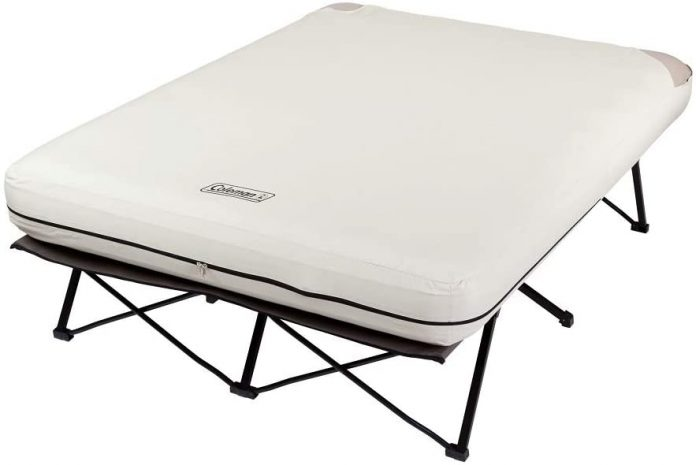best Coleman Camping Cot Air bed for tent camping