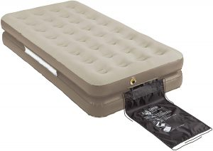 best Coleman EasyStay 4-N-1 Single High Airbed Twin/King bed for tent Camping
