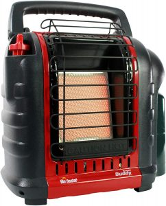 best Heater F232000 MH9BX 4,000-9,000 BTU, for tent camping