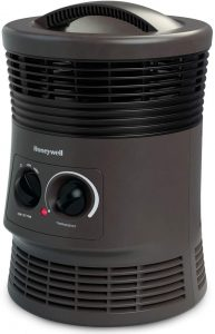 best Honeywell HHF360V 360 Degree Surround Heater for tent camping
