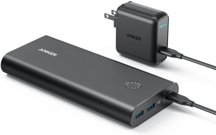 best Anker PowerCore+ portable charger for camping