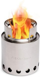 best camp Solo Stove Lite backpacking