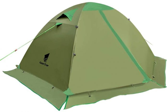 best GEERTOP Backpacking extreme cold weather tents