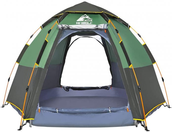 best Hewolf Waterproof Instant Camping extreme cold weather tents