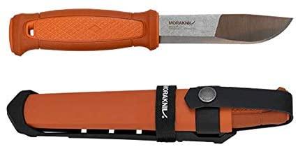 best Morakniv Kansbol Fixed Blade Knife -Sandvik Stainless Steel Blade for Camping & hiking