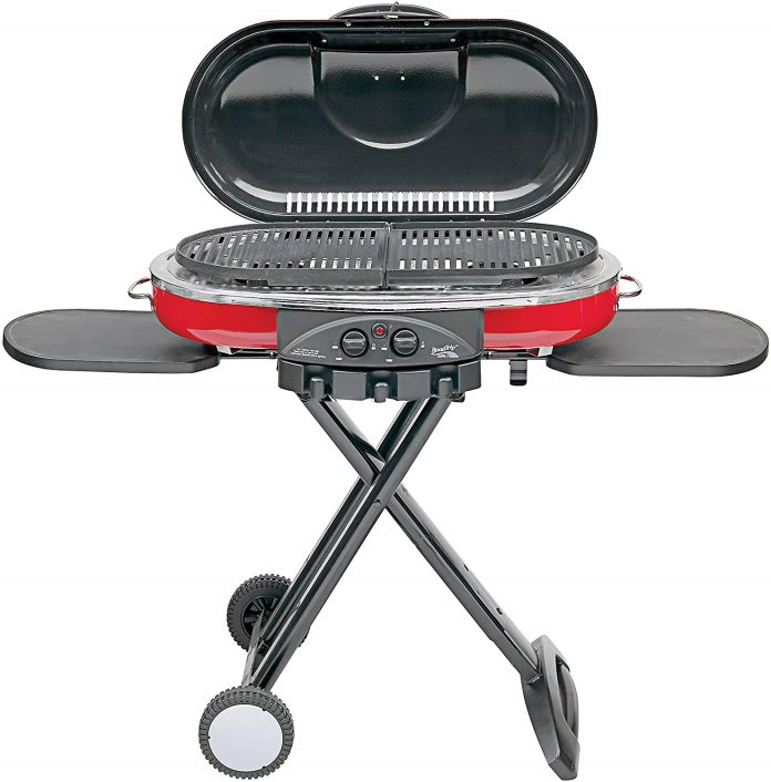 best Coleman Propane Grill Portable LXE For Tailgating, BBQ, & Camping