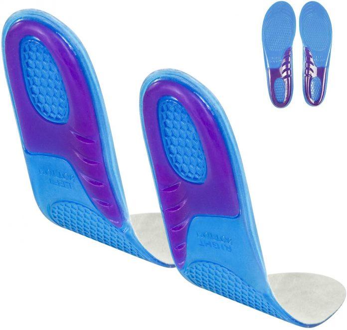 best Envelop Gel Running Insoles for flat feet