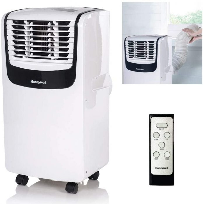Honeywell MO08CESWK Compact 3-in-1 Portable Air Conditioner for camping