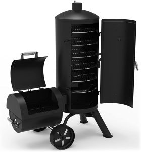 best Dyna-Glo Signature Series DGSS1382VCS-D Offset Charcoal Smoker and Grill