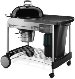 best Weber 15501001 Performer Deluxe Charcoal Grill, Touch-N-Go Gas Ignition System