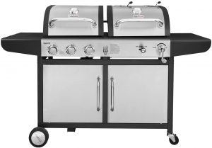 best Royal Gourmet ZH3002-S 3-Burner Gas Charcoal Grill Combo