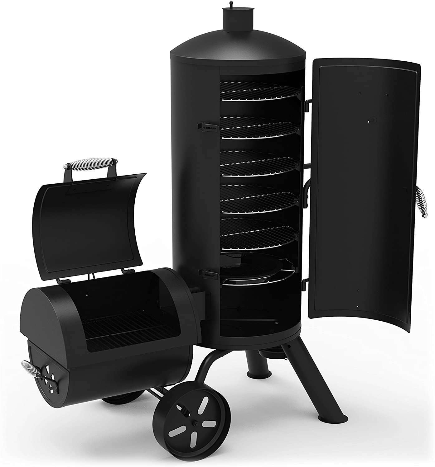 best Dyna-Glo Signature Series DGSS1382VCS-D Vertical Offset Charcoal Smoker and Smoker grill combo