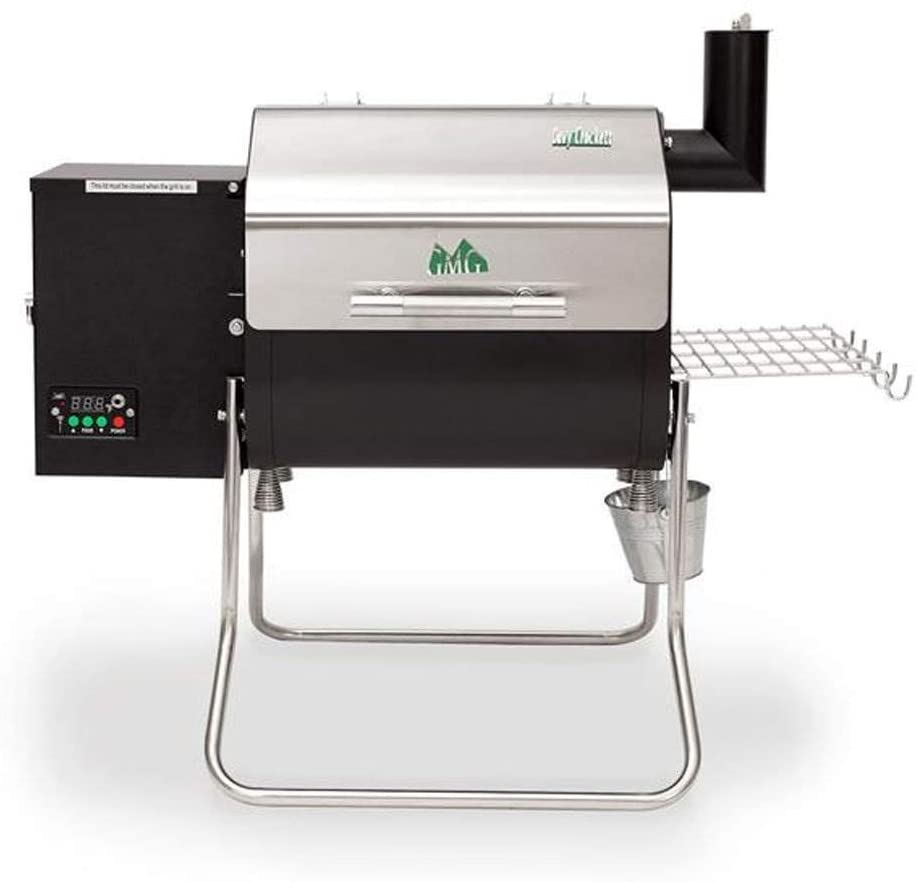 best GREEN MOUNTAIN GRILLS DCWF WOOD-PELLET 219 sq. in. FOLDABLE PORTABLE