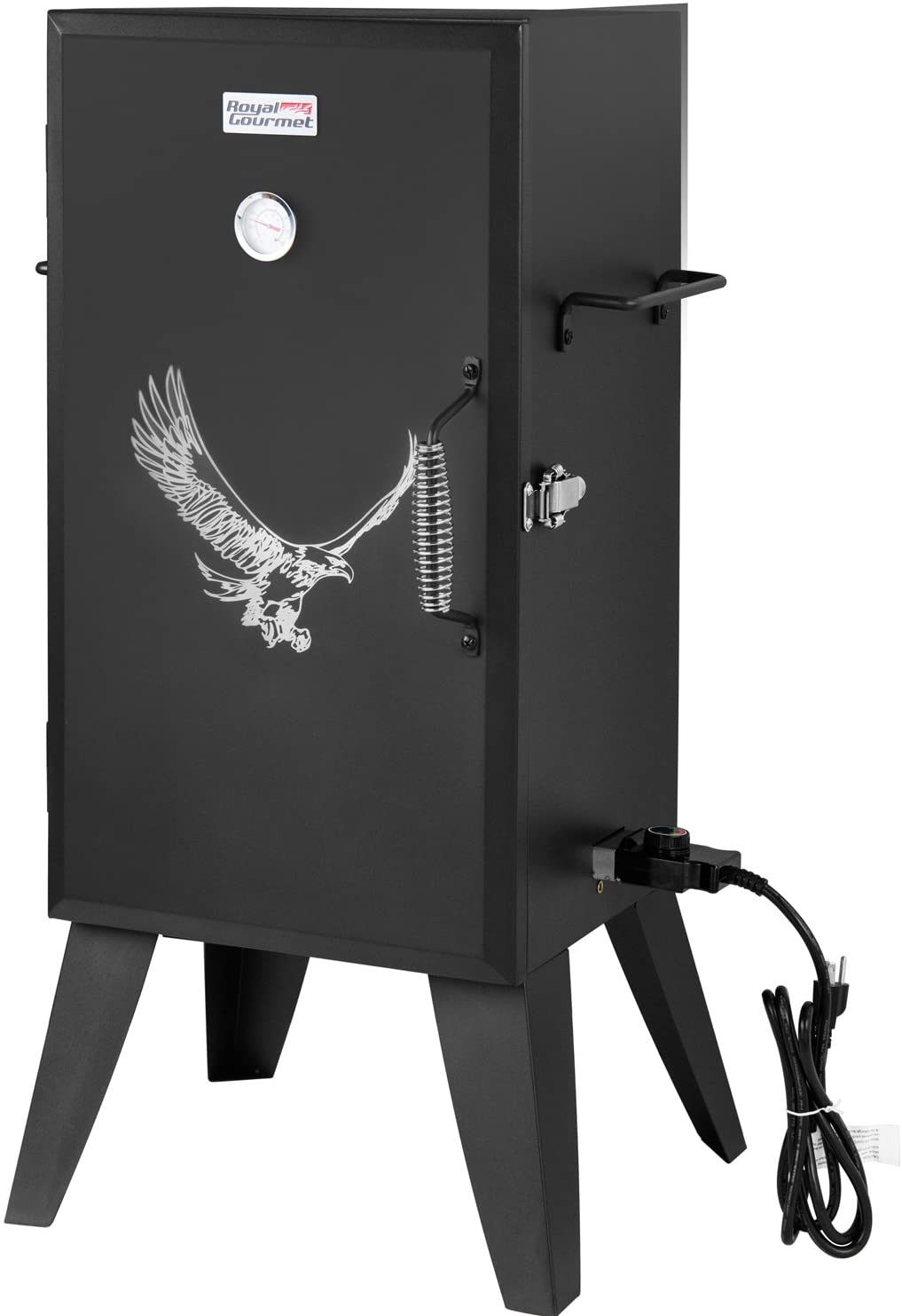 best Royal Gourmet SE2801 Electric Smoker, Adjustable Temperature Control Grill