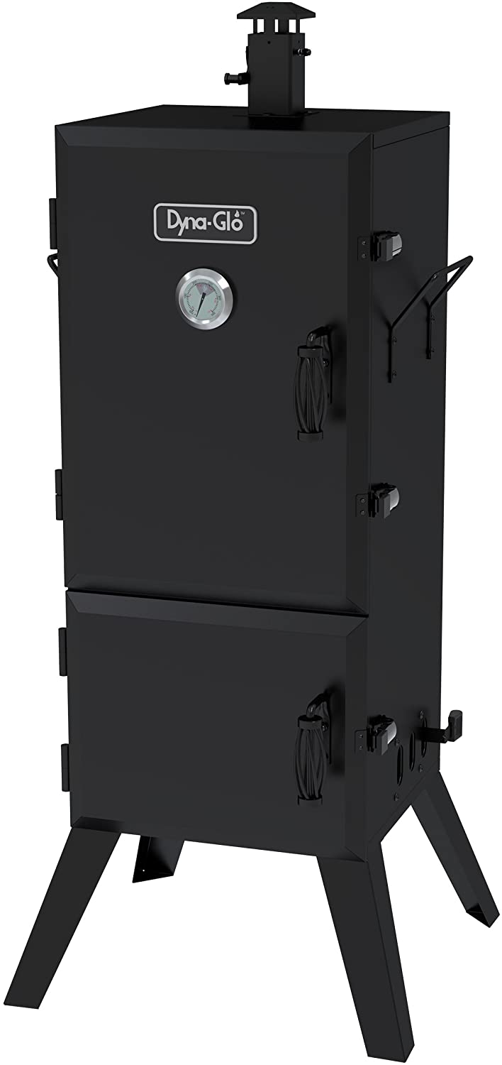 best Dyna-Glo DGX780BDC-D Charcoal Smoker and Grill 36 Vertical