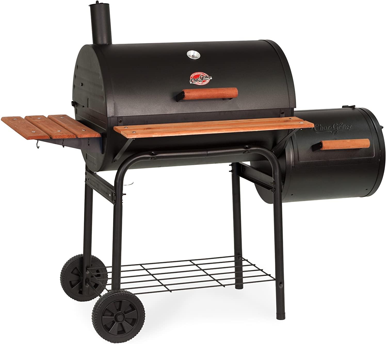 best Char-Griller E1224 Smokin Pro 830 Square Inch in Black