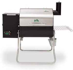best Green Mountain Davy Crockett Sense Mate Portable Wood Pellet Tailgating Grill Electric With Wi-Fi Control