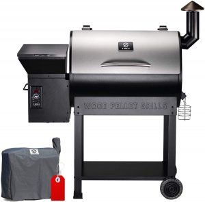 best Z GRILLS ZPG-7002E 2020 Upgrade Wood Pellet Grill & Smoker, Multiple Functionality BBQ Grill
