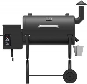 best Z GRILLS ZPG-550B 2020 Upgrade Wood Pellet Grill and smoker 8 in 1 BBQ Grill Auto Temperature Control