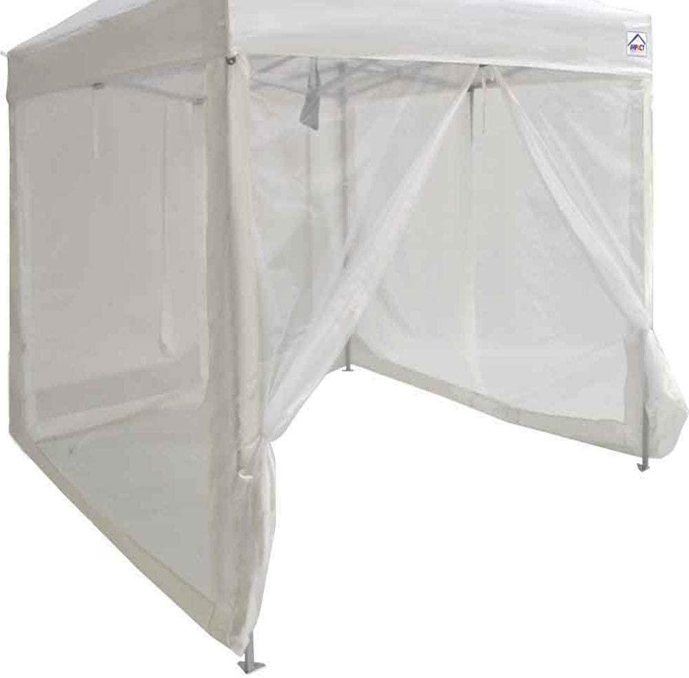 best Impact Zippered Mesh Sidewalls Canopy Tent