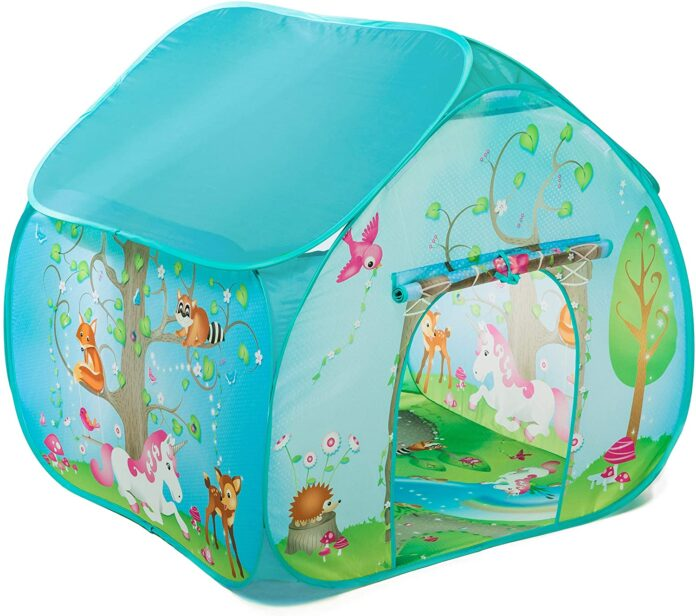 best Fun2Give Pop-It-Up Enchanted Forest Play Tent - Portable pop up tent for child play - Original