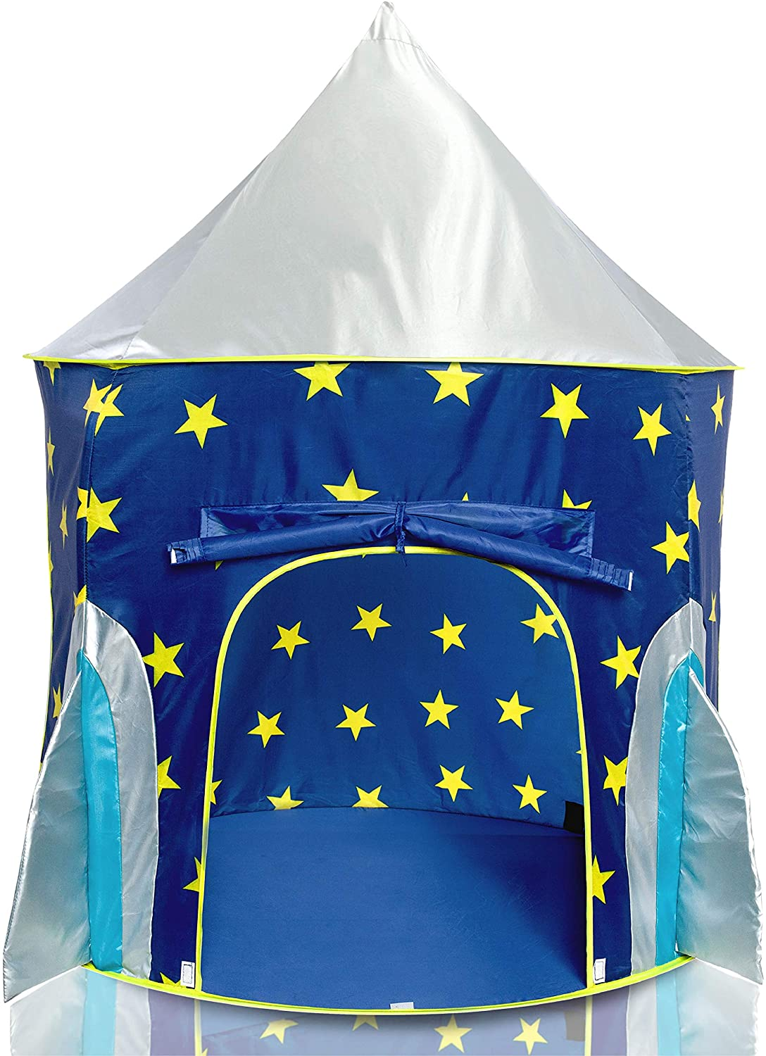 best USA Toyz Rocket Ship Indoor Playhouse Pop Up Kids Tent With Space Projector Toys