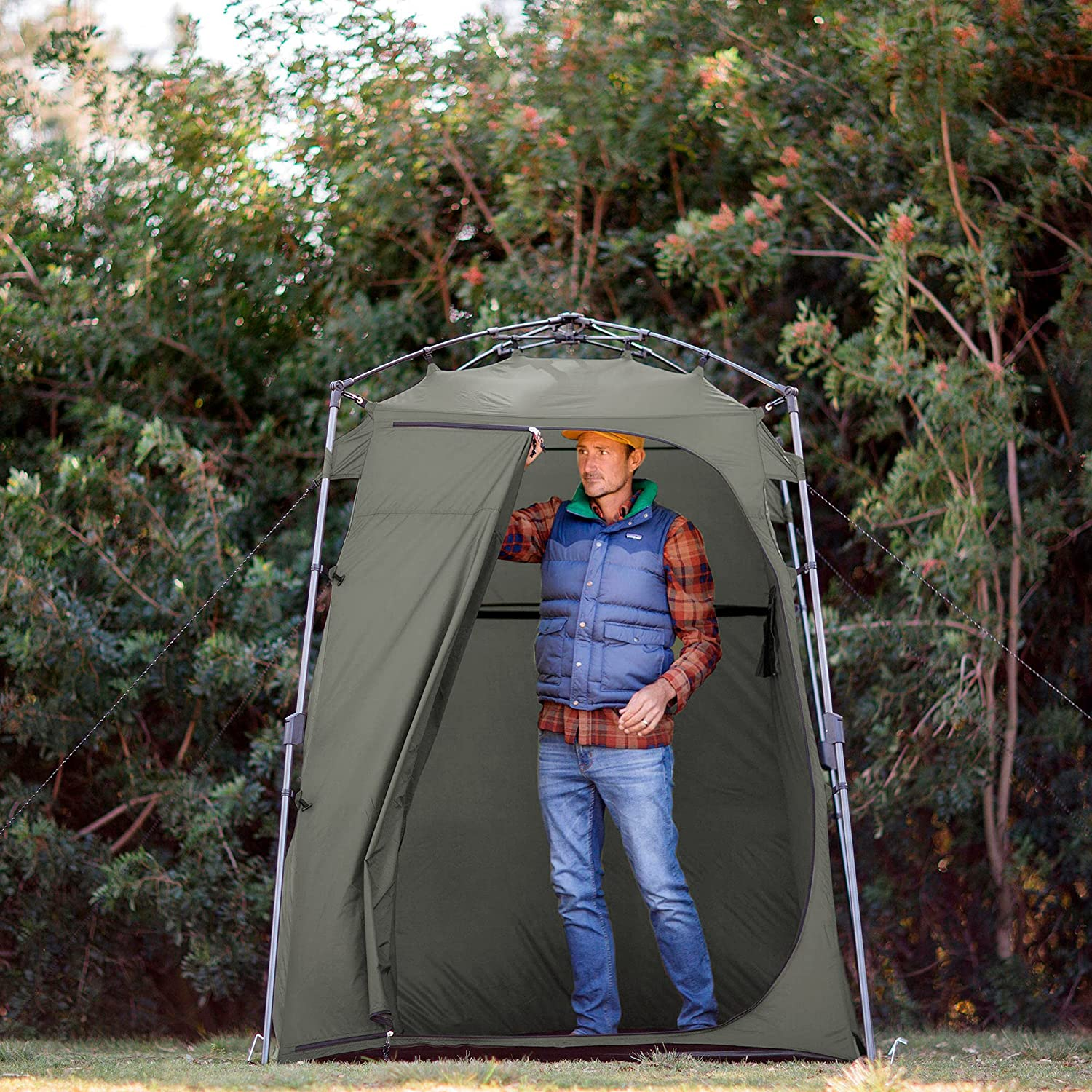 best Lightspeed Outdoors Portable Xtra Quick Set Up Privacy Tent, Private Shower Room, Outdoor Changing Room