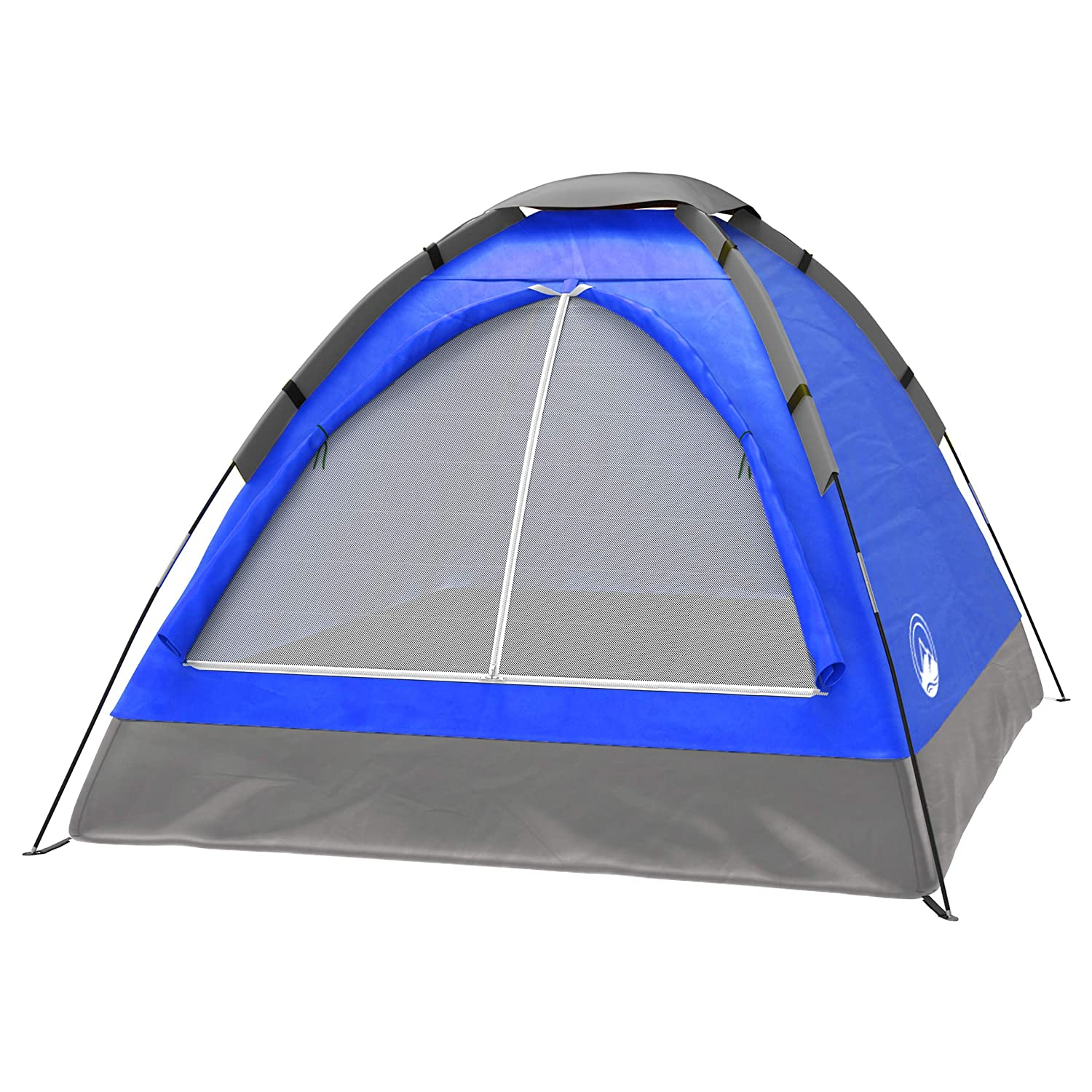 best Wakeman Outdoors Camping Tent for 2 Person Blue Dome pop up Tent