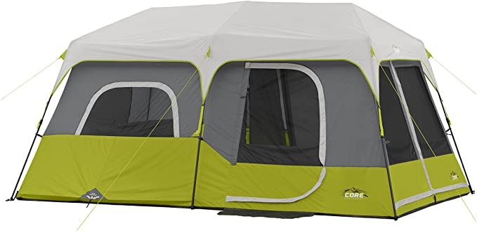 best Core Instant Cabin pop up Tent for Nine Person