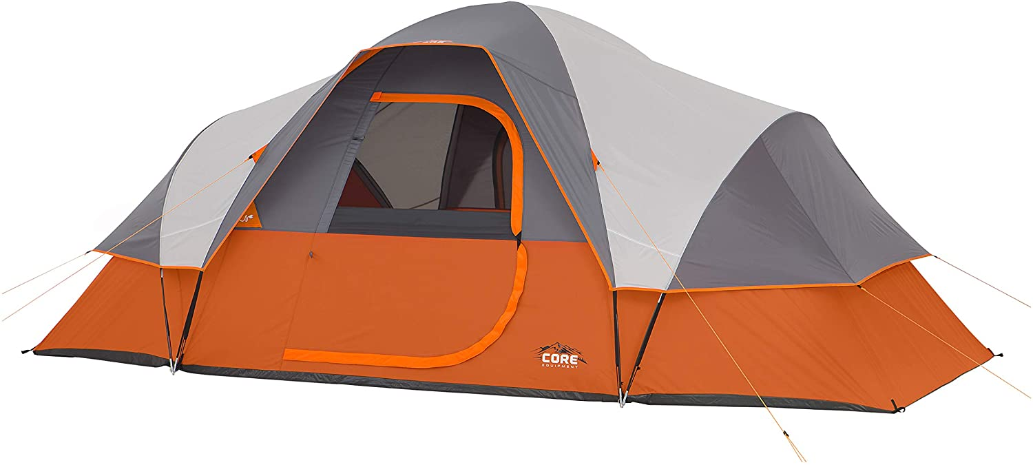 best Core Extended dome pop up Tent for Nine Person