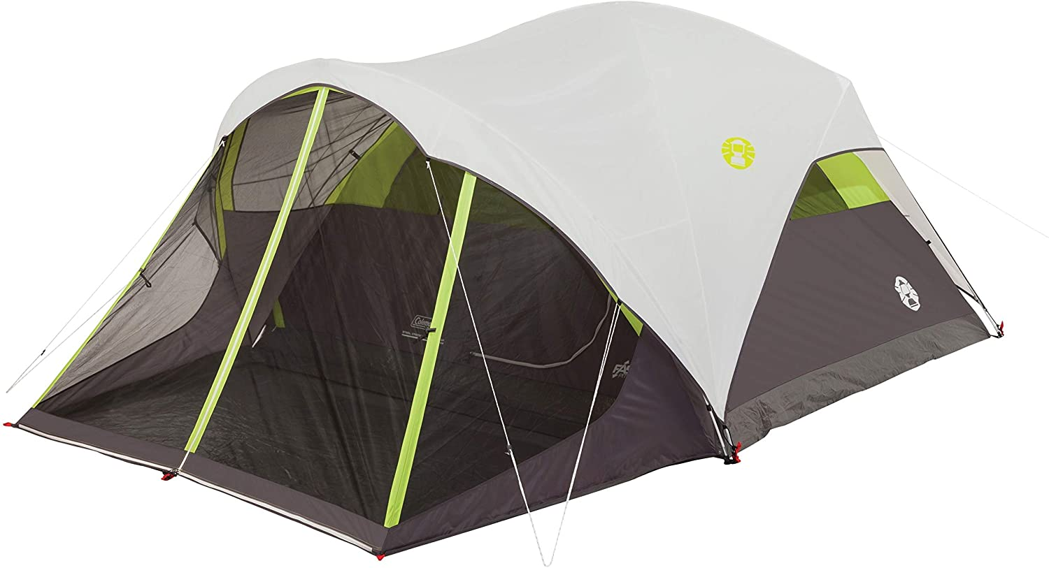 best Coleman Steel Creek Fast Pitch Dome Tent, White 10 * 9