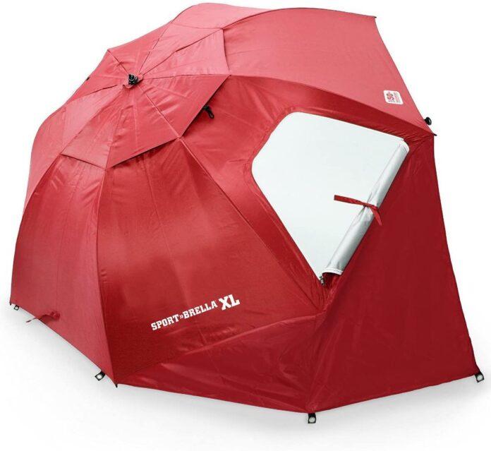 best Sport-Brella XL Vented SPF 50 Plus Umbrella Canopy  pop up tent for beach