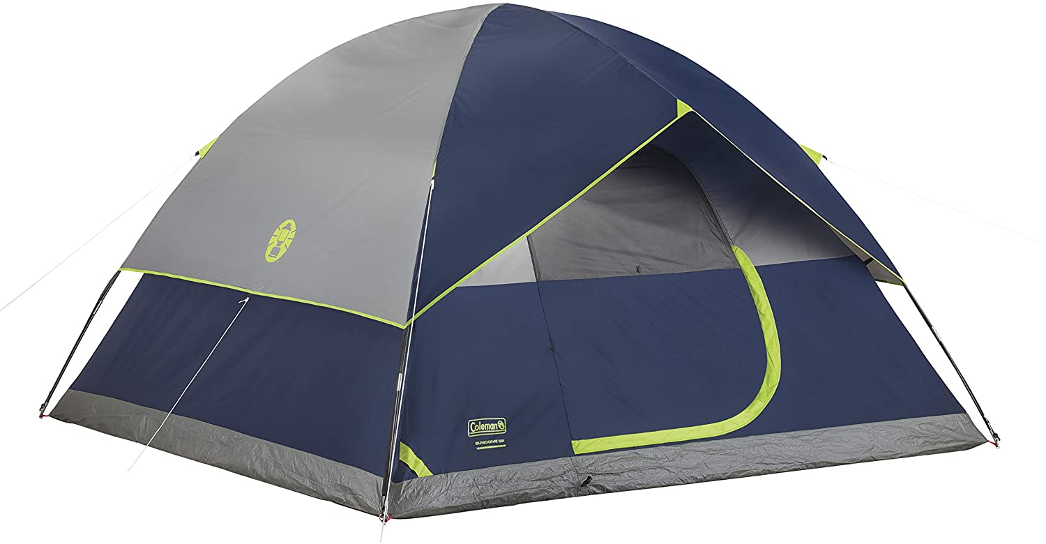 best Coleman Sundome pop up Tent for Two Person: