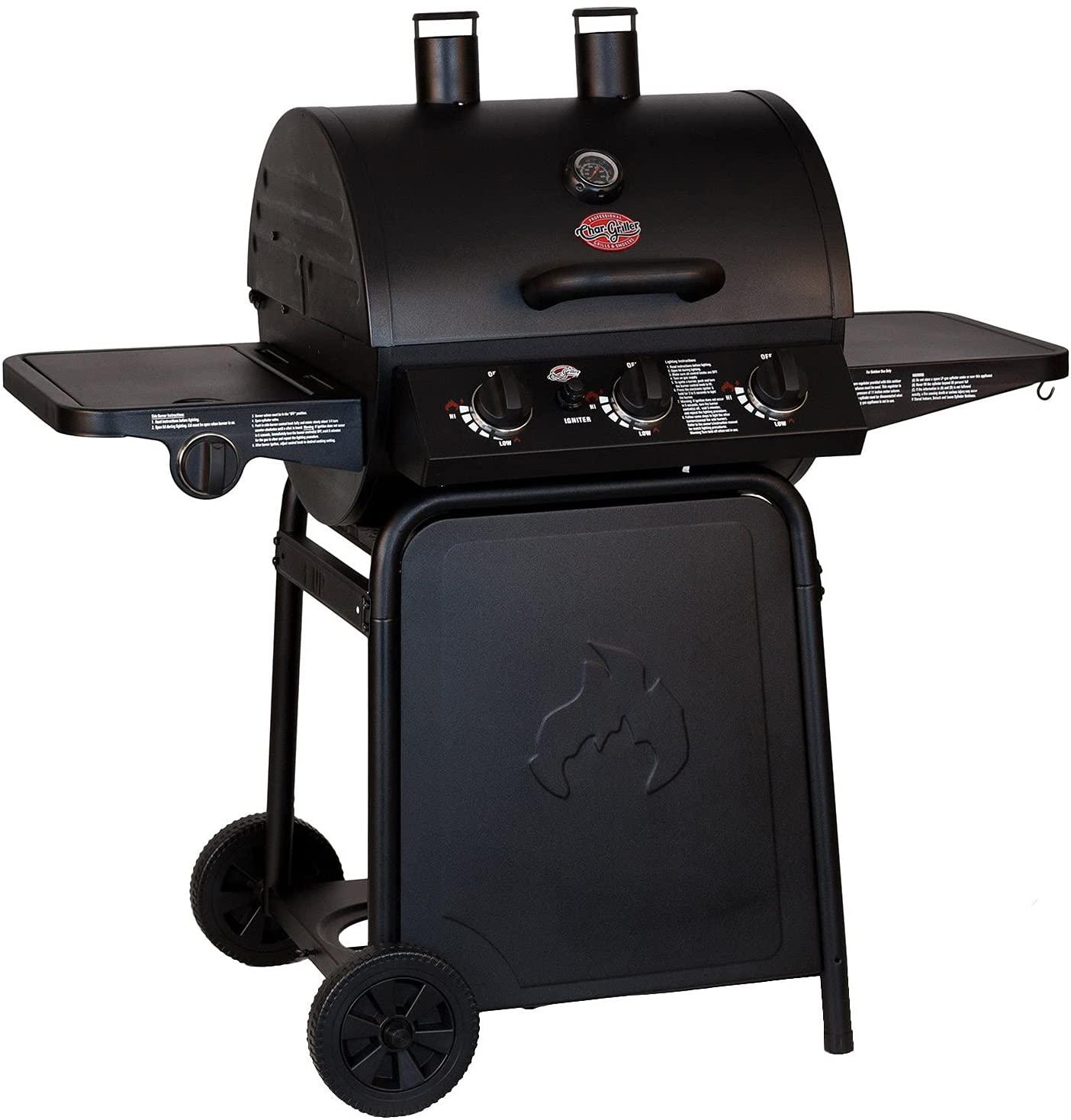 best Char-Griller E3001 Grillin' Pro 40,800-BTU Black Gas Grill under 300
