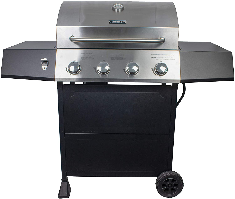 best Cuisinart CGG-7400 Propane With 4-Burner Gas Grill  under 300