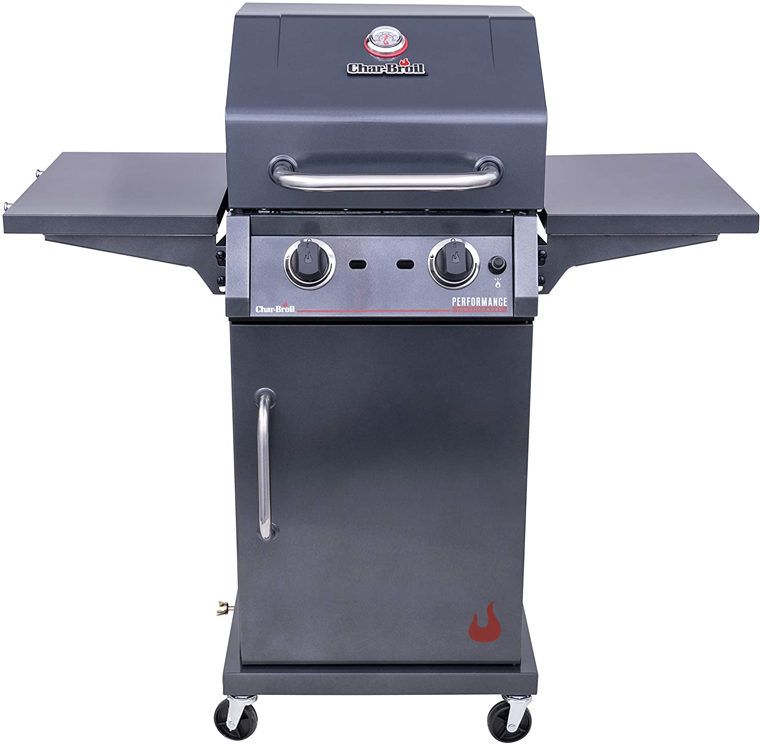 best 463655621 Performance Char-Broil TRU-Infrared 2-Burner Cabinet Style Gas Grill under 300